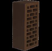 Кирпич облицовочный полуторный, М-150 (Шоколад) 42% пустотности